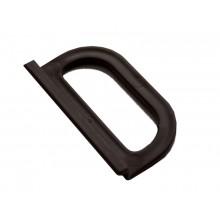 Ручка москитной сетки, пластик цвет коричневый